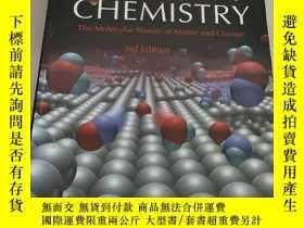 二手書博民逛書店Chemistry:罕見The Molecular Nature of Matter and Change (3r