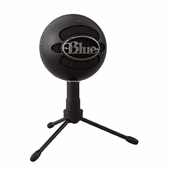 電容式麥克風Blue Snowball iCE Condenser Microphone, Cardioid 黑 [2美國直購]