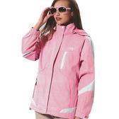 【日本Kawasaki】女版休閒功能性二件式薄裡外套(淺粉)