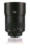 6期零利率 Zeiss 蔡司 Milvus 1.4/85 ZF.2 85mm F1.4 ZF2 鏡頭 For Nikon 石利洛公司貨