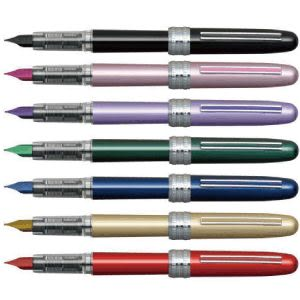 [奇奇文具] 【白金牌 PLATINUM 鋼筆】 白金牌 Plaisir PGB-500 金屬桿鋼筆