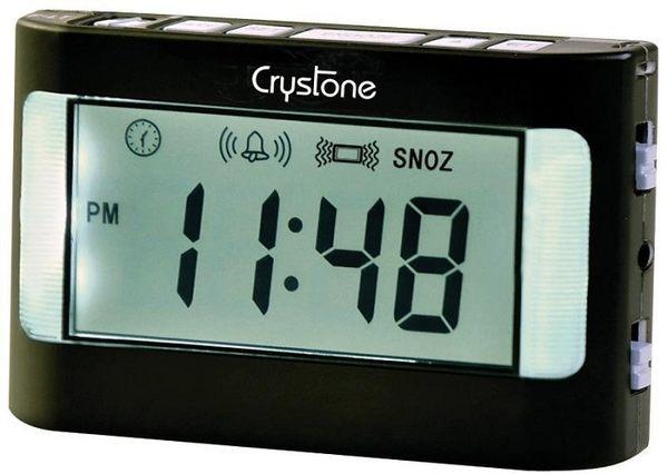 【Crystone】攜帶型震動鬧鐘NT-903(僅適用電池)