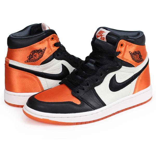 -[TellCathy]AIR JORDAN 1 RETRO HIGH OG SL 黑橘 女鞋 AV3725-010