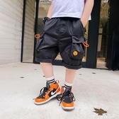 童裝男童褲子夏季2020新款兒童夏裝短褲休閒工裝褲中大童洋氣 PA17131『男人範』