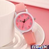 兒童手錶 時尚潮流兒童手錶女孩學生可愛男孩中小學生考試電子夜光石英錶 百分百