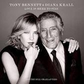 戴安娜克瑞兒 & 東尼班奈特 純愛年代 CD Tony Bennett & Diana Krall Love Is Here To Stay 免運 (購潮8)