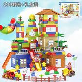 積木兼容積木大顆粒場景益智拼裝3城市男女孩子6兒童玩具1-2周歲7wy