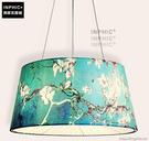INPHIC- 北歐風格現代創意簡約臥室書房餐廳單頭木布藝燈罩個性吊燈-G款_S197C