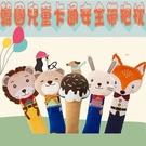 韓國卡通可愛動物汽車安全帶護套兒童抱枕 毛絨兒童安全帶汽車抱枕抱枕 護肩套 背帶套