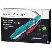 【日本KAWADA河田】Nanoblock迷你積木-nanoGauge 基本套組 E5系新幹線 隼鳥號 nGS_002