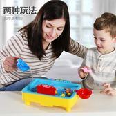 童勵兒童釣魚玩具池套裝男女孩1236歲寶寶小貓電動釣魚磁性益智玩