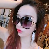 太陽鏡 墨鏡新款太陽鏡女圓臉防紫外線墨鏡正韓潮流高清開車明星百搭眼鏡