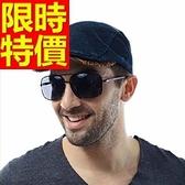 鴨舌帽-流行防曬遮陽男貝雷帽2色57j56【巴黎精品】