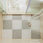 浴室防滑墊淋浴房洗澡隔水墊家用大號拼接鏤空墊子廁所衛生間地墊 igo完美情人精品館