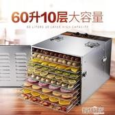 乾果機 麥度乾果機不銹鋼家用烘乾機食品蔬菜脫水機食物水果風乾機LX 智慧e家