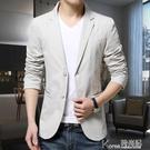 春夏小西裝男韓版修身外套男裝西服青年加肥加大單西休閒薄款上衣