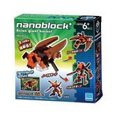 【日本KAWADA河田】NanoblockPLUS積木-大虎頭蜂 PBH-011