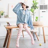 長筒襪過膝襪秋冬款珊瑚絨襪子女毛巾襪居家地板襪成人保暖睡眠襪【快速出貨】