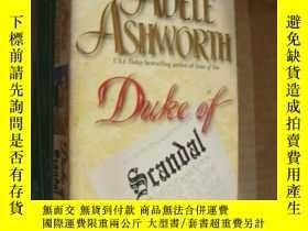 二手書博民逛書店Duke罕見of Scandal [醜聞公爵(小說)]Y8571