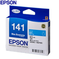 EPSON 原廠墨水匣T141250藍