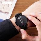 []手錶男韓版時尚潮流防水學生全自動非機械錶運動石英男士錶