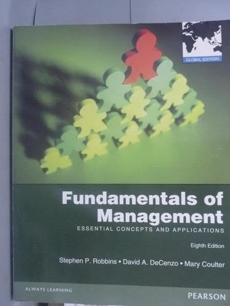 【書寶二手書T6/大學商學_PGP】Fundamentals of Management_Robbins, DeCenz