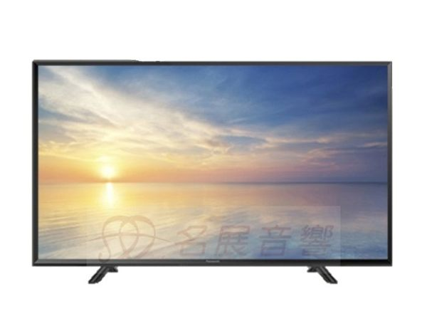 贈高畫質線材《名展影音》國際 Panasonic TH-43F410W 43吋 LED超明亮面板液晶電視 另售TH-43FX600W