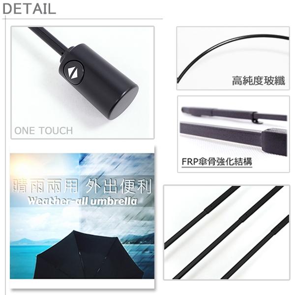 【買一送一】40吋自動黑膠傘-遮光/遮雨/抗UV傘_折疊傘 / 晴天雨天一把搞定-自動傘-晴雨傘