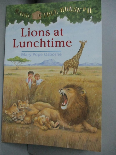 【書寶二手書T6/原文小說_FSF】Lions at Lunchtime_Osborne