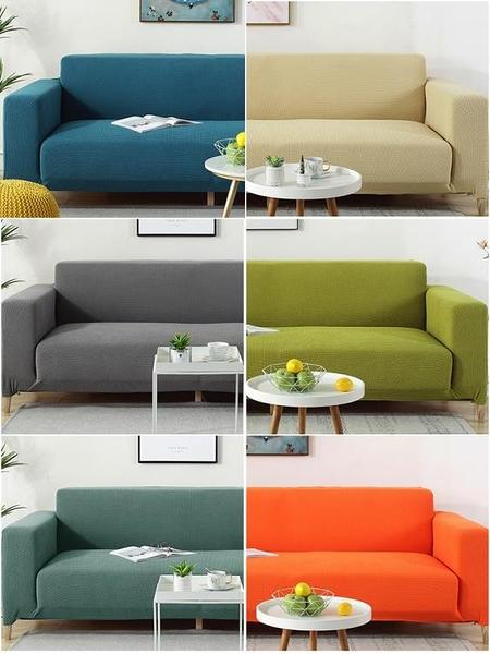 沙發罩 彈力懶人沙發套罩全包萬能套加厚通用型沙發罩現代簡約客廳沙發墊 宜品