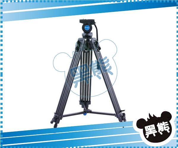 黑熊館 BENRO 百諾 專業攝影油壓三腳架套組 KH25N 三節伸縮的鋁合金架身 360度雲台