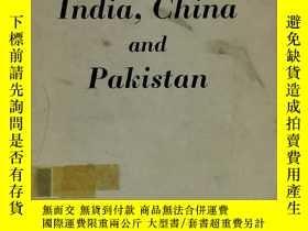 二手書博民逛書店India,罕見China and Pakistan by Latif Ahmed Sherwani(印度研究之中