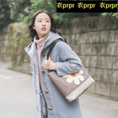 【YPRA】帆布包包 帆布包單間大包亞麻手提女包