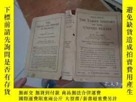 二手書博民逛書店the罕見tariff history united state