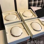 手環 大玉自留 夏天手上是不是缺點啥 男女情侶款  鎢鋼手鐲 手環     非凡小鋪