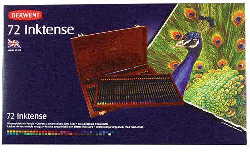 DERWENT 達爾文水墨鉛色鉛筆豪華木盒 72入*2301844