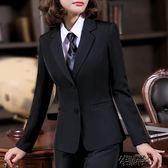 秋冬小西裝女外套短款職業裝女裝正裝收腰中年工作服女士西服上衣 街頭布衣