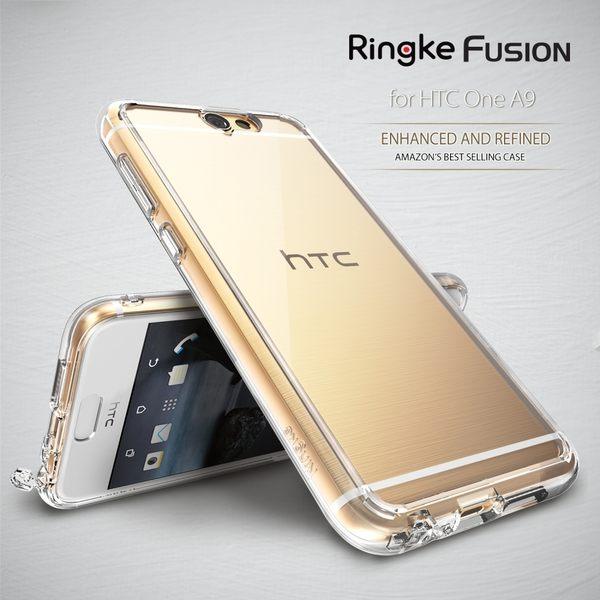【贈指環支架】REARTH 韓國 Ringke Fusion HTC One A9 透明背蓋(防塵塞)保護殼 手機殼