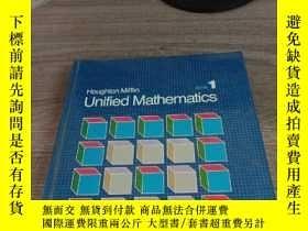 二手書博民逛書店Houghton罕見Mifflin Unified Mathem