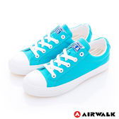 美國AIRWALK-390元起 可愛圓頭青春百搭帆布鞋(女) - 藍