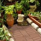 范登伯格 貝力 環保塑木拼接地板 L型 棕 30x30/片