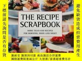 二手書博民逛書店The罕見Recipe Scrapbook: More than