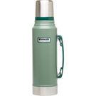【速捷戶外露營】美國STANELY #10-01254 經典系列 真空保溫瓶 1.0L (錘紋綠)