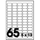 Unistar 裕德3合1電腦標籤紙 (35)US4274 65格 (100張/盒)