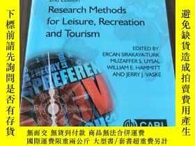 二手書博民逛書店Research罕見Methods for Leisure, Recreation and Tourism(休閑娛