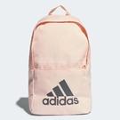 adidas 後背包 Classic Backpack 粉紅 灰 包包 女款 基本款 【PUMP306】 DM7678