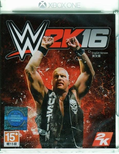 【玩樂小熊】現貨中 XBOXONE 遊戲 WWE 2K16 美國勁爆職業摔角 英文亞版