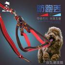 小型犬中型犬狗狗胸背帶泰迪邊牧貴賓牽引繩牽引帶狗繩狗鍊子套裝