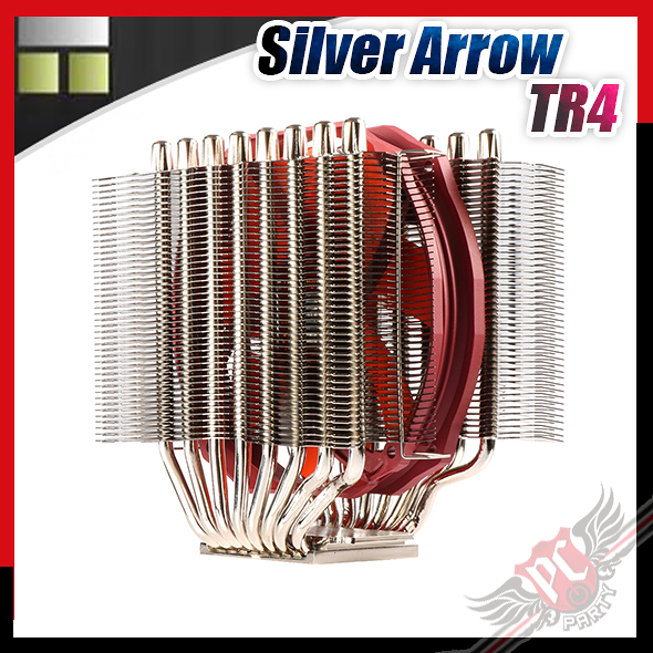 [ PCPARTY ] 利民 Thermalright Silver Arrow TR4 CPU塔散 散熱器