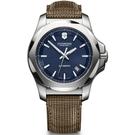 VICTORINOX 瑞士維氏 I.N.O.X.經典機械錶 VISA-241834 藍